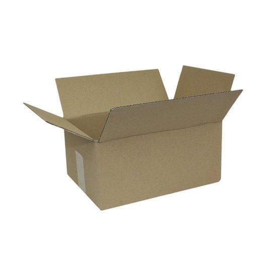 Faltkarton 1-wellig 200 x 130 x120 mm; Karton; Faltkarton; Versandkarton